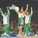 Pakistan's Gold Medalist Mohammad Inam Butt