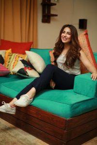 Ushna prioritizes the concept of mental health, especially as a celebrity in Pakistan