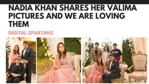 Nadia Khan Shares Here Valima Pictures and We Are Loving Them