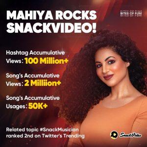 """Mahiya"" Craze on SnackVideo fuels a wave of nostalgia"