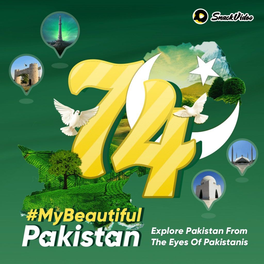 SnackVideo to celebrate the spirit of independence with its #MyBeautifulPakistan challenge